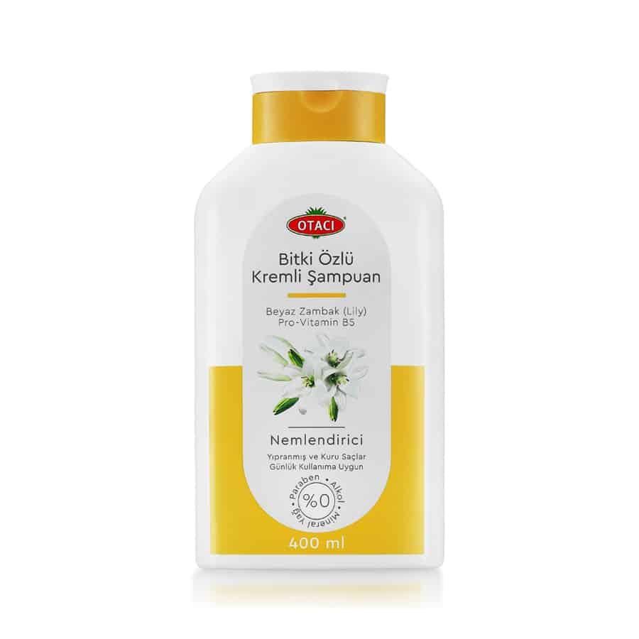 Otacı Bitki Özlü Kremli Şampuan Beyaz Zambak