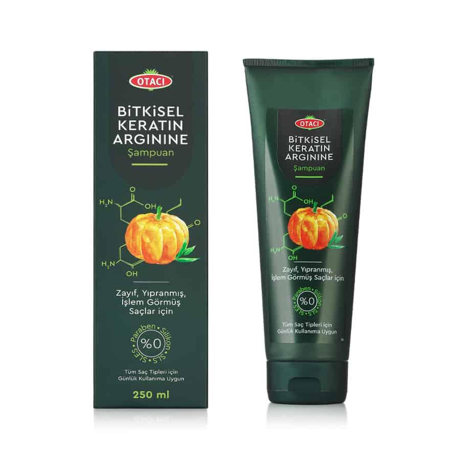 Otacı Bitkisel Keratin Arginine Şampuan