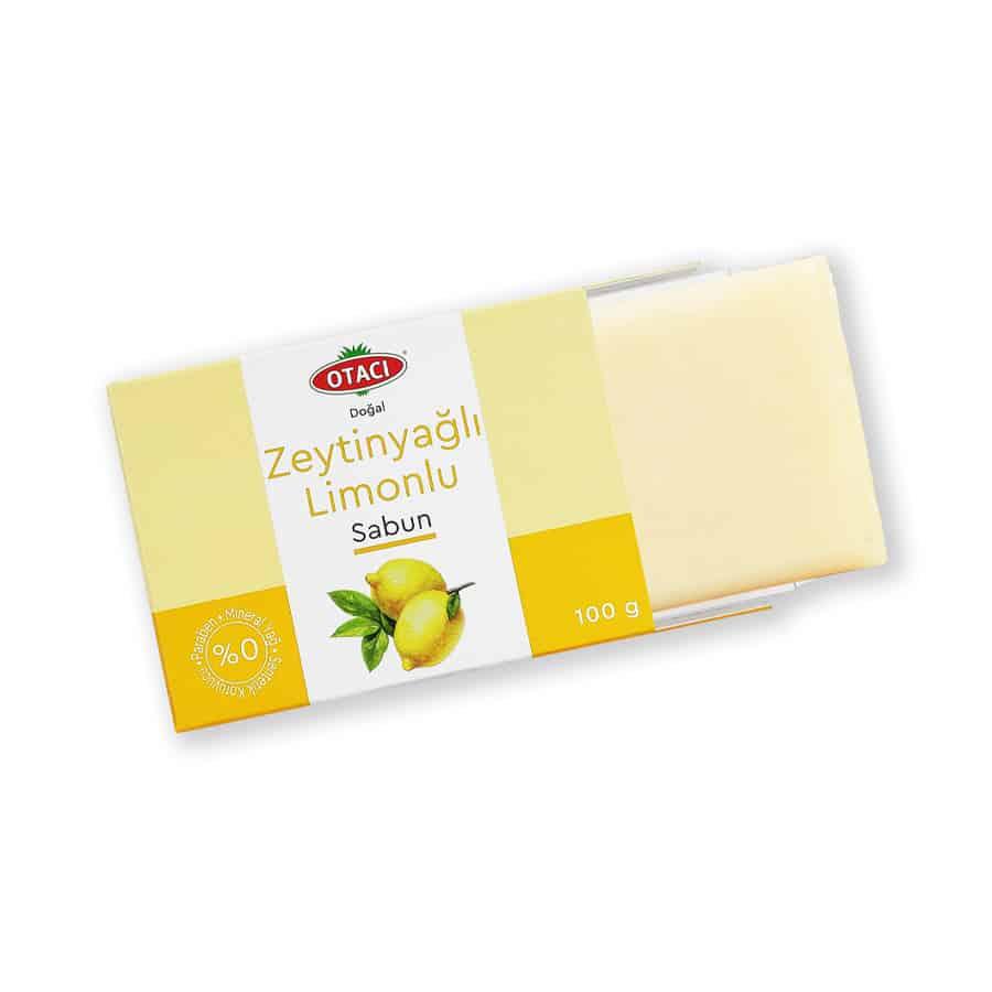 Otacı Doğal Zeytinyağlı Limonlu Sabun